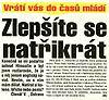 19. srpna 1993 - Blesk
